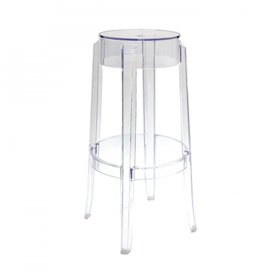 Clear Ghost Stool for Rent