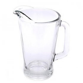 Glass Pitcher (55 oz) for Rent