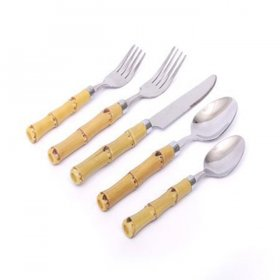Bamboo Flatware for Rent