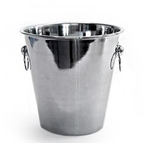 Stainless Champagne Bucket (4 qt) for Rent