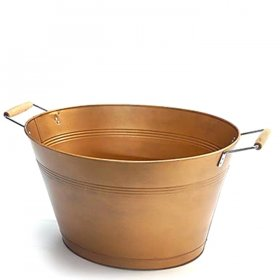 Brushed Champagne Bucket for Rent