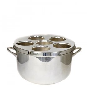 Silver 6-Bottle Wine Tub for Rent