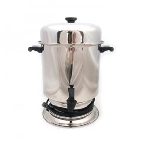 Coffee Maker Chrome (55 Cup) for Rent
