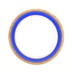 Colored Rim China for Rent