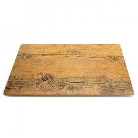 Mod Melamine Faux Wood Tray for Rent