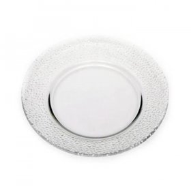 Pebble Glass Dinnerware for Rent