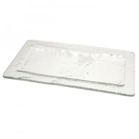 Sea Glass Rectangular Platter for Rent