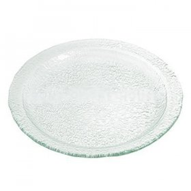 Sea Glass Round Platter for Rent