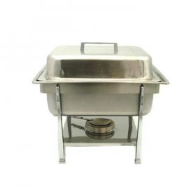 Stainless Chafer Square (4 qt) for Rent