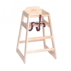 Wood High Chair for Rent