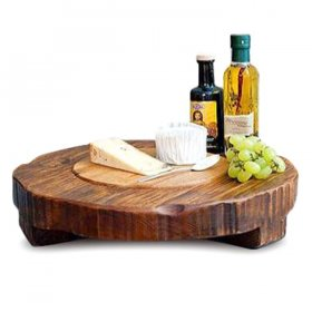 Wood Trivet Platter for Rent