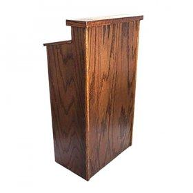 Wood Podium for Rent