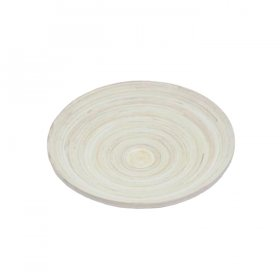 "Bamboo Tray 13.5"" Round for Rent"