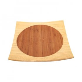 "Bamboo Tray - 14"" Square for Rent"
