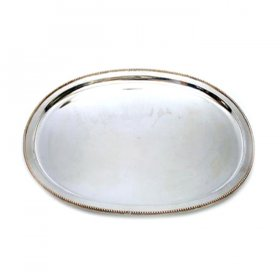 "Beaded Tray - 14"" Round for Rent"