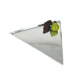 "Mod Regal Tray - 20"" Triangle for Rent"