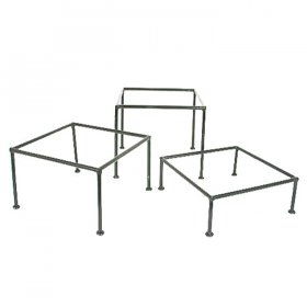 "Mod Regal Tray Stand - 13"" Square for Rent"
