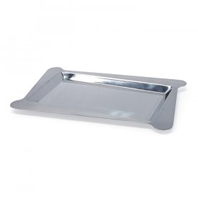 "Mod Stainless Steel Angle Tray 18"" x 12"" for Rent"