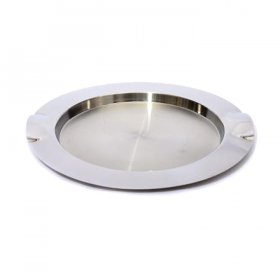 "Mod Stainless Steel Tray 16"" Round for Rent"