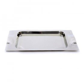 Mod Stainless Steel Tray Rectangular for Rent