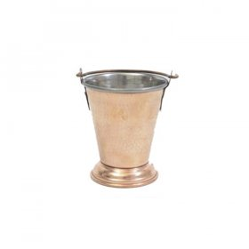 Moroccan Copper Mini Pail for Rent