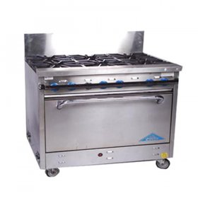 Propane Commercial Stove 4 Burner for Rent