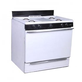 Propane Residential Stove 4 Burner for Rent