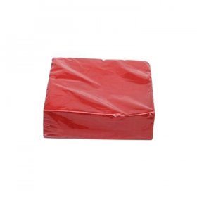 Red Luncheon Napkins for Rent
