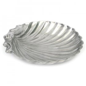 """Regal Shell Tray 21"""" Round for Rent"""