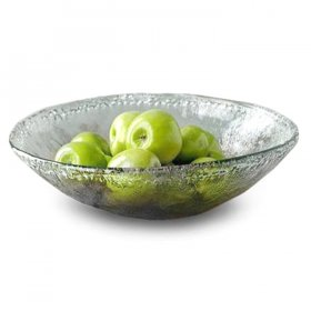 Sea Glass Round Bowl for Rent