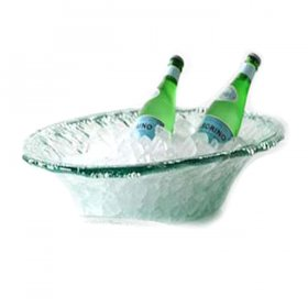 Sea Glass Tub Bowl for Rent