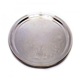 Silver Tray Round for Rent