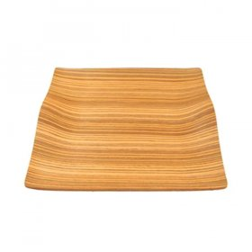 "Wood Wave Tray 20"" x 15"" for Rent"