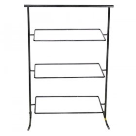 Wrought Iron 3 Tier Rectangle Stand for Rent