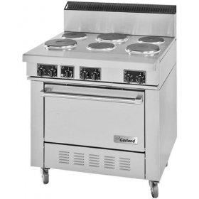 Electric Commercial Stove 6 Burner for Rent