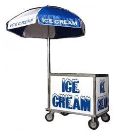 Ice Cream Cart with Umbrella for Rent
