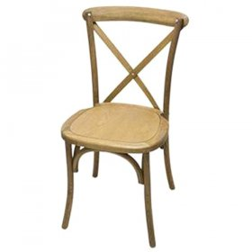 Cross Back Chair for Rent