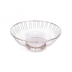 Silver Bread Basket for Rent