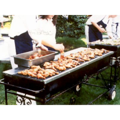 Propane grill food service