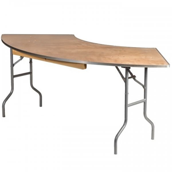 Serpentine Table for Rent