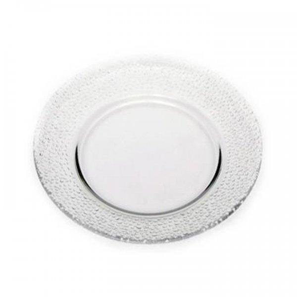 Pebble Glass Dinnerware for Rent