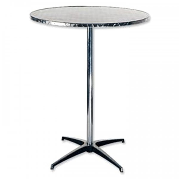 Stainless Steel Cocktail Table for Rent