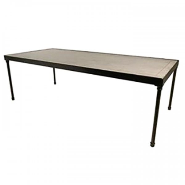 White Wash Tribeca Table for Rent