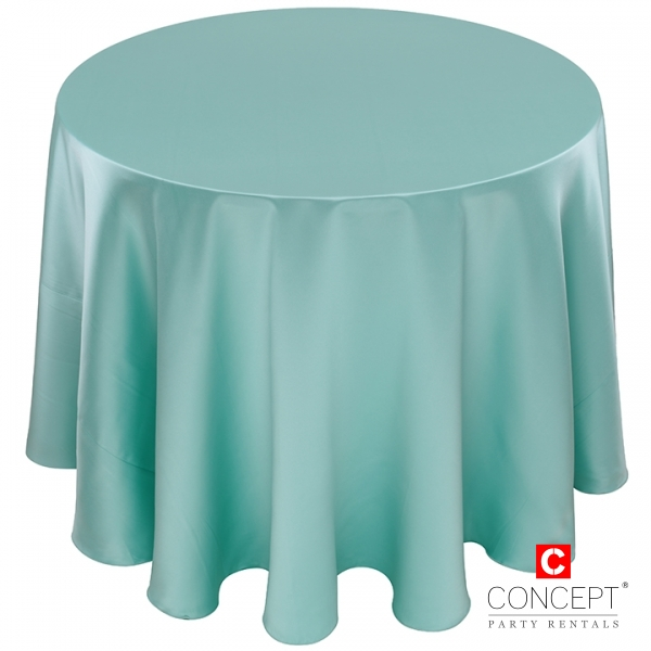 Matte Satin Tablecloth for Rent