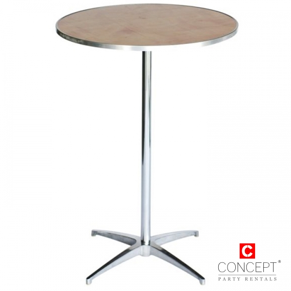 Round Cocktail Table for Rent